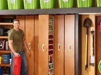 Lots of DIY ideas, tutorials, suggestions to optimize the space and maintain your garage and/or workshop organized. Handymen tips and suggestions.  DIY - Garage, Basement/Storage Room. Get Organized Now !!! Also, Family Handyman and DIYNetwork tips and suggestions to help you around the house!
