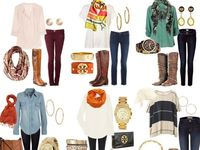 All of the fashion goodies I love...  Will they look as good on me as they do on the model?