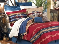 Bedroom - Bedding - Rustic, Western, Southwest
