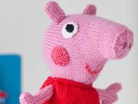 Hello Kitty Toy Knitting Pattern Free : Toy Knitting Patterns on Pinterest Knit Patterns, Hello Kitty Toys and Toys