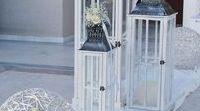 Στολισμός Γάμου - Εκκλησία / Σκάλιά , εξωτερικός χώρος Ιερό , Λαμπάδες , διάδρομος