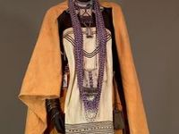 Non-western historical fashion, footwear and jewelry