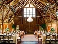 Inspiration for weddings and parties in a barn setting.