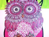 "I did ""Owl Art Work"" back in 1976!! I traded my original art work for Doctor visits, Dentist visits and what ever I could!! The world was ""Owl Crazy"" and I loved making art around them!! Now I am back at it again!! I love looking at all the things made around ""OWLS""!!"
