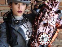 Steam punk, Cyber Gothic, Victorian