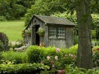 My Dream Garden / I dream of a small cottage with a simple garden and a VAST field of lavender. I collect all images and pins of things I wish to have in my dream.