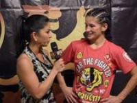 Tiffany Van Soest talks Lion Fights 8 against Alexis Rufus on Axis ...
