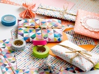 gift wrapping, tags, bows, fonts, and snail mail.