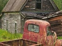 Abandoned . Forgotten . Ruins . Discarded .  Rust . Some reported to be Haunted :   :::::::::   Non Restored Old Houses .. Buildings .. Castles .. Amusement Parks .. Bridges .. Old Trucks .. Old Cars .. Trains .. Railroad Tracks .. Old Gas Pumps .. (and more).