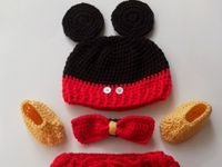 Crochet Mickey n Minnie and others