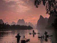 LI  JIANG.  GUILIN ET  YANGSHUO / Voyage inoubliable . Paysages d'une grande beauté