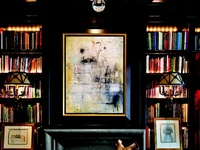 books, bookcases, styling, etc.