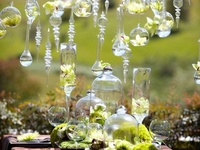 Decor for the elegant and whimsy. Tablescapes I enjoy and props you can use to create!