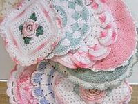 Crocheted Dishcoths and Hotpads