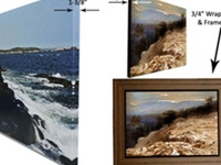 Germotte / Germotte for photo framing, canvas printing, gallery wrap, dry mount, laminating, canvas cluster, oil painting reproduction, portrait to painting