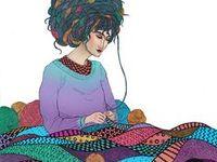 Fiber Artist / Fiber Art & Inspo #FiberArts #Crochet #Knitting #Maker #Art