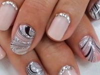 Nail art ideas and finger adornment rings