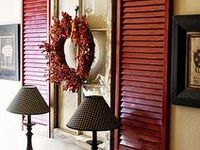wonderful ideas for decorating with shutters