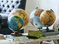 Maps. Globes.