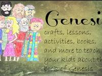 Crafts, activities, and ideas for the book of Genesis