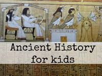 Mystery of History 1 activities Ancient history for kids Ancient history lessons, books, and crafts