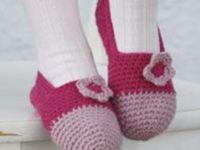 Crochet Slippers and Socks