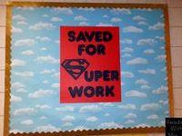 School Classroom Theme: Superheroes!