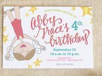Invitations for kids