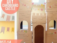 Cardboards crafts. Also crafts involving recycled items too!