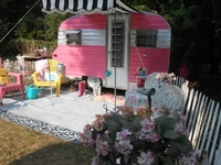 Vintage campers/Travel trailers