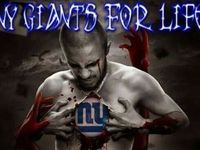 NY Giants football! Go Big Blue!