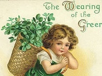 Here's to the wearing of the Green:)