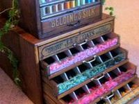 32 Best Images About Spool And Needle Cabinets On