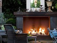 Outdoors--patios, porches, gardens, firepits, pools, etc