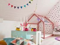 Ideas and inspiration for bedrooms and play spaces for the little people.