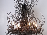 I've always loved anything made with rough sticks, twigs and logs.  It must be the pioneer in me :o)