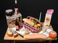 Cheese & wine table