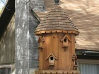 Birdhouses, Nests and Cages