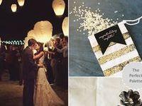 :: Black + Gold Weddings ::