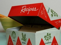 Recipe  Boxes and Books