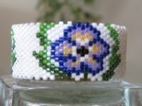 Beaded Spools and Tea lights Cover Pattern