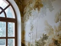 Walls,wallpaper and ceilings