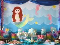 All things for an under the sea / mermaid birthday party #undertheseaparty #undertheseabirthdayparty #undertheseabirthday #mermaidparty #mermaidbirthday #mermaidbirthdayparty