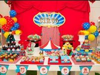 All things circus and carnival for a circus birthday party #circusparty #circusbirthday #circusbirthdayparty #carnivalparty #carnivalbirthday #carnivalbirthdayparty