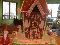 Gingerbread houses by Mama Wood