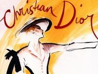 The most influential fashion designer of the late 1940s and 1950s, CHRISTIAN DIOR (1905 to 1957) dominated fashion after World war II with the hourglass silhouette of his voluptuous New Look. He also defined a new business model in the post-war fashion industry by establishing Dior as a global brand across a wide range of products.