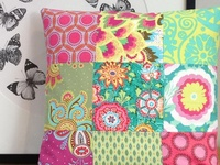 The power of pillows to add color and personality to any room---especially if you are renting and can't paint the walls. Pillows are also a great way to change your look with the seasons OR just make a statement.  Here are all sorts of ideas and inspiration from many talented crafters.