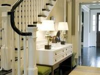 A collection of Foyers, entryways, halls and stairways.