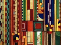 Multiple Mediums - Stained Glass, Fabric Design, Architecture ++