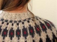 knit: pullover